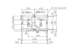 イナバ物置のナイソーのSMK-32S