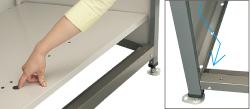 DPNC-1050の床板