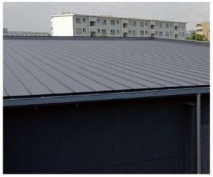 稲垣商事の金属屋根材のスタンビーの施工写真